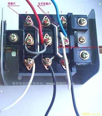 电风扇马达线圈电路 风扇电机线圈上的黑线(零线)