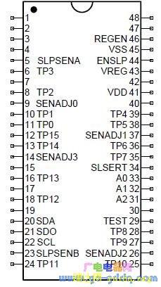 ttp229触摸检测电路 -pdf,ttp229中文资料,ttp229参数